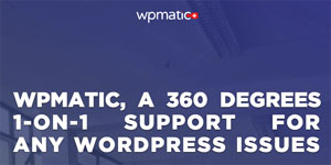 WordPress Support with WP Matic